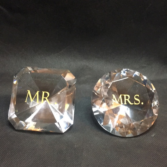 Oleg Cassini Other Crystal Mr And Mrs Diamons Poshmark